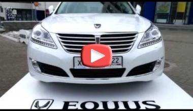 Автоцентр АНТ провел семинар-презентацию обновленного Hyundai EQUUS